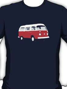 Bay Window Red White Essence (see description) T-Shirt
