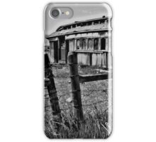 Old Train Car iPhone Case/Skin