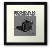 Kodak Baby Brownie Special Framed Print
