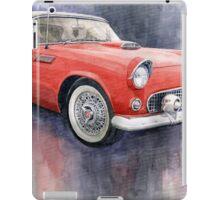Ford Thunderbird 1955 Red iPad Case/Skin