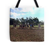 Working Horse Parade, Churchill Island, Easter 2010 Tote Bag