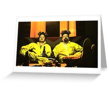 Breaking Bad - Walt and Jessie Greeting Card