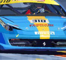 Ferrari 458 Challenge Team Ukraine 2012 Sticker
