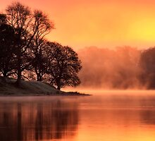 Lake Sunrise by David Mould