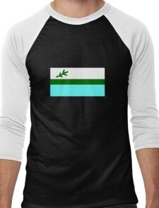 Flag of Labrador, Canada Men's Baseball ¾ T-Shirt