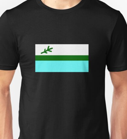 Flag of Labrador, Canada Unisex T-Shirt
