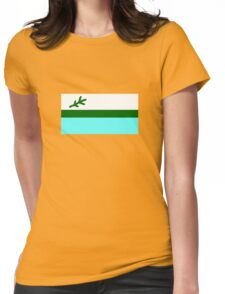Flag of Labrador, Canada Womens Fitted T-Shirt