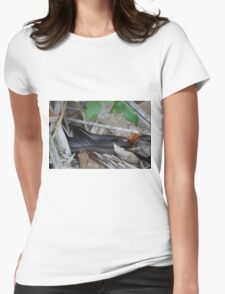 Black Racer Womens Fitted T-Shirt