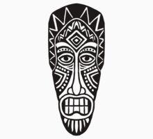Tiki Mask by Artberry