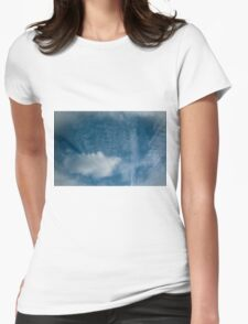 Mr Blue Sky Womens Fitted T-Shirt