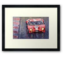 Ford GT 40 24 Le Mans  Framed Print
