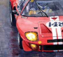 Ford GT 40 24 Le Mans  Sticker