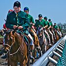 Outriders Along The Rail by Eric Scott Birdwhistell