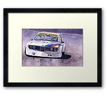 BMW 3,0 CSL 1972-1975 Framed Print