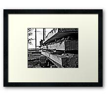 Slabs Framed Print