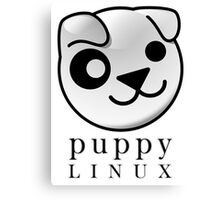 puppy LINUX Canvas Print