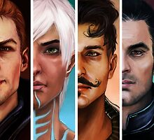 bioware boys by la-haine