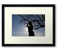 I Didn't See Myself Getting Out of This One Framed Print