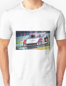 Porsche 935 Coupe Moby Dick Martini Racing Team Unisex T-Shirt