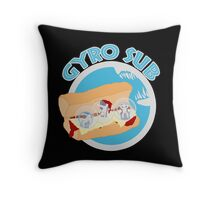 Gyrosphere Sub Throw Pillow
