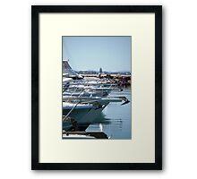 Boat bows Framed Print