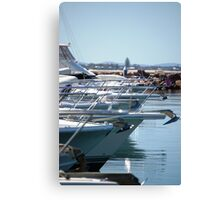 Boat bows Canvas Print
