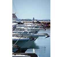 Boat bows Photographic Print