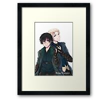 Draco and Harry Framed Print