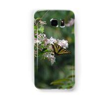 Tiger Swallowtail Butterfly on Honeysuckle 2 Samsung Galaxy Case/Skin