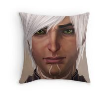 there are no puppy eyes Throw Pillow