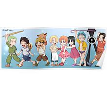 One piece children Poster