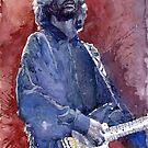 Eric Clapton 04 by Yuriy Shevchuk