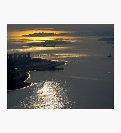 Over Boston Photographic Print