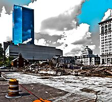 Downtown's Destruction by Eric Scott Birdwhistell