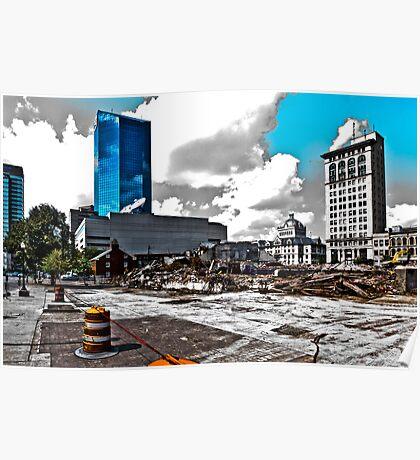 Downtown's Destruction Poster