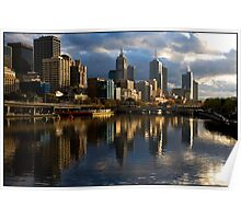 Yarra Reflection Poster