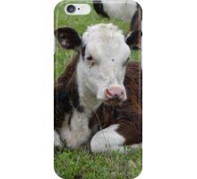 Laid back calf iPhone Case/Skin