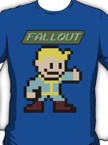 Fallout 4 - Vault Boy (8-bit Pixel Art) T-Shirt