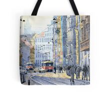 Prague Vodickova str  Tote Bag