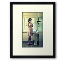 Yes or no? Framed Print