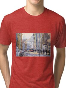 Prague Vodickova str  Tri-blend T-Shirt