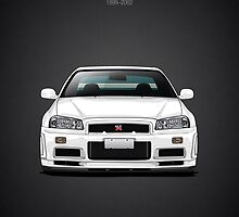 Nissan Skyline GT-R (R34) by m-arts