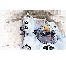 Porsche 917K Le Mans Steve McQueen Photographic Print