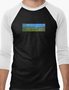 """Panorama"" Men's Baseball ¾ T-Shirt"
