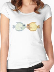 Two Fish Women's Fitted Scoop T-Shirt
