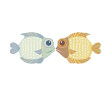 Two Fish by Jean Gregory  Evans