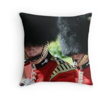 All in a days parade. Throw Pillow