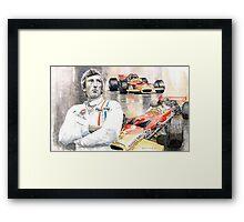 Jochen Rindt Golden Leaf Team Lotus Lotus 49b Lotus 49c Framed Print