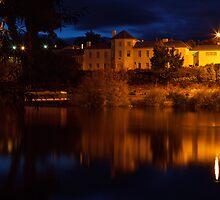 Woodbridge, New Norfolk, Tasmania by Chris Cobern