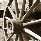 Wagon Wheel II by Todd A. Blanchard